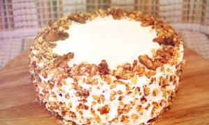 Торт с черносливом и орехами рецепт