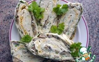 Холодные закуски из лаваша рецепт
