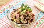 Итальянский салат из фасоли с сухариками и колбасой: рецепт с фото – очень вкусный