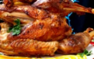Запеченное филе индейки