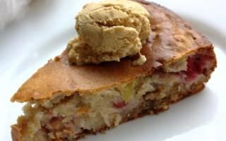 Пирог с брусникой и сметаной: рецепт с пошаговым фото