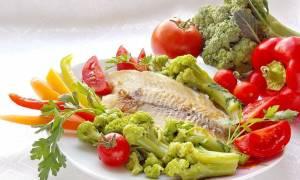 Филе морского окуня с овощами рецепт