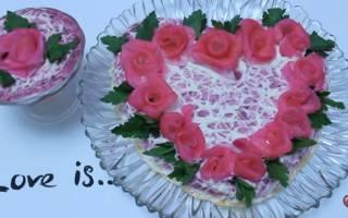 Салат Любовница: пошаговый рецепт с фото (классический)