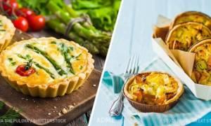 Сырные корзиночки-тарталетки с начинкой рецепт