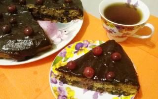 Постный заливной пирог рецепт