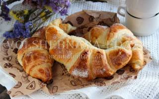Слоеное тесто со сгущенкой рецепт