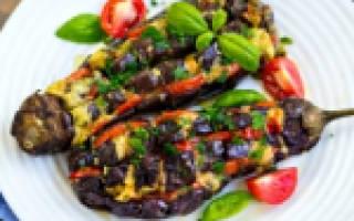 Рулетики из баклажанов рецепт