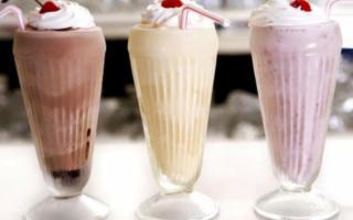 Молочный коктейль с мороженым рецепт