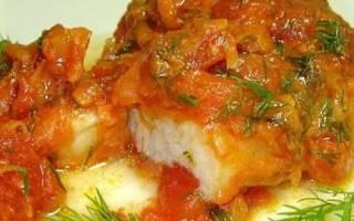 Тушеная рыба в мультиварке рецепт