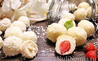 Конфеты рафаэлло домашний рецепт