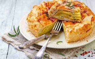 Пирог с картошкой в духовке рецепт