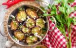 Острая закуска из баклажанов с чесноком рецепт