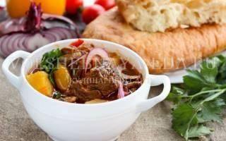 Шурпа из говядины в домашних условиях рецепт