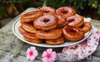 Пончики на воде
