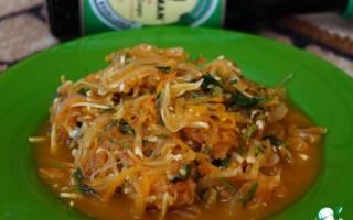 Гарнир из кабачков к рыбе рецепт