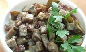 Баклажаны как грибы с яйцом рецепт