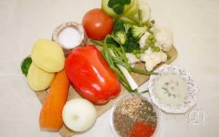 Постный овощной суп рецепт