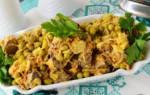 Салат с куриной печенью рецепт