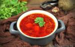 Суп свекольник рецепт