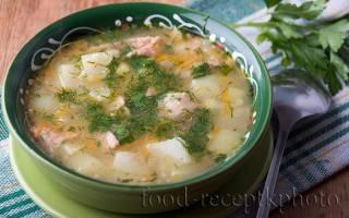 Ячневый суп рецепт