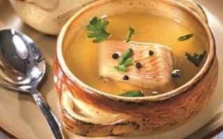 Суп из стерляди рецепт