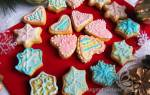 Новогоднее печенье с глазурью рецепт