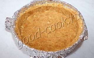 Тесто из крошки печенье рецепт