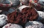 Постные кексы с какао рецепт