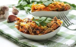 Салат обжорка с мясом рецепт