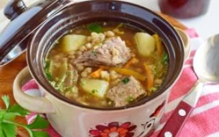 Гречневый суп с говядиной рецепт