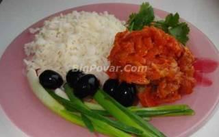 Рыба заливная в томате рецепт