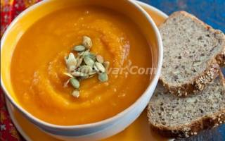 Тыквенный суп от Юлии Высоцкой рецепт