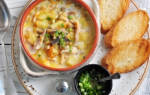 Сырный суп пюре