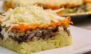 Салат из шпротов