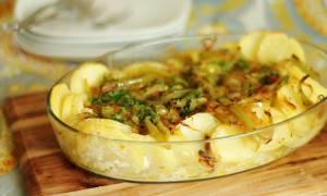 Треска запеченная в духовке с картошкой рецепт