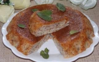 Постный пирог в мультиварке рецепт