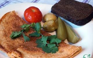 Омлет из рыбной икры: рецепт с фото