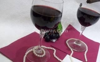 Глинтвейн из красного вина с зеленым чаем рецепт