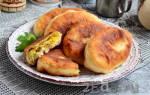 Жареные пирожки с капустой рецепт