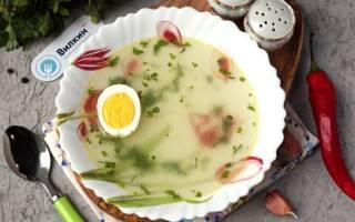 Бульон с яйцом рецепт