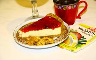 Чизкейк из творога: рецепт с фото пошагово – без выпечки