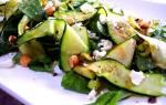 Салат из сырых кабачков: 5 лучших рецептов рецепт