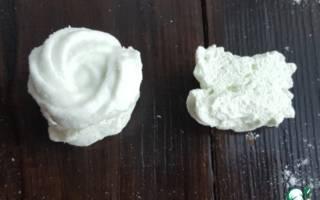 Домашний зефир с желатином рецепт
