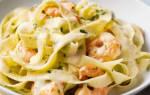 Итальянская паста с морепродуктами рецепт
