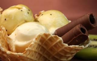 Постное бананово-шоколадное мороженое рецепт