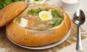Суп Журек рецепт