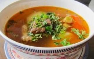 Суп из дикой утки рецепт