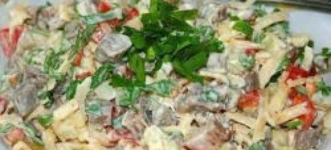 Классический мясной салат рецепт