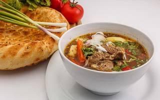 Шурпа из баранины по узбекски рецепт