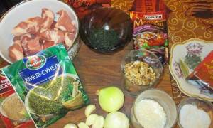Суп харчо с картошкой рецепт